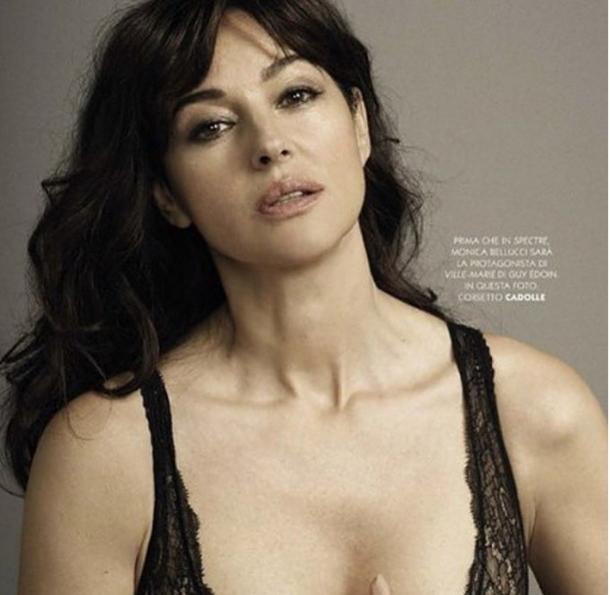İtayan aktris Monica Bellucci