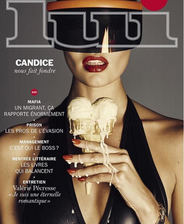 Güney Afrikalı model Candice Swanepoel