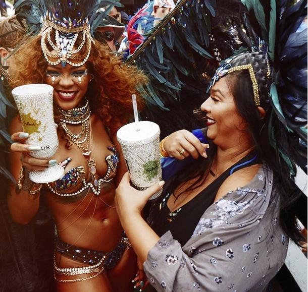 Rihanna Barbados Festivali