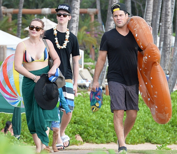 Hilary Duff eski eşiyle Hawaii tatilinde!