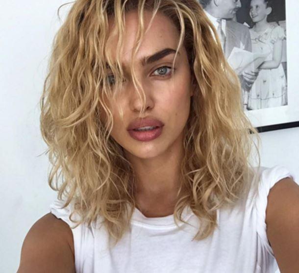 Rus model Irina Shayk