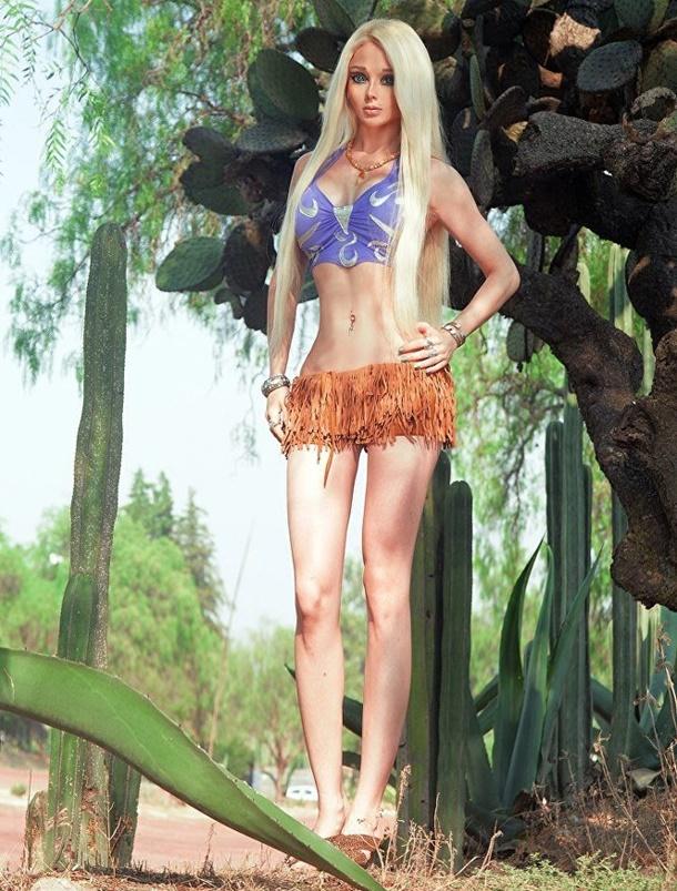 Rus Barbie olarak bilinen Valeriya Lukyanova, güzellik sırlarına ve yaşamına dair ayrıntıları paylaştı.