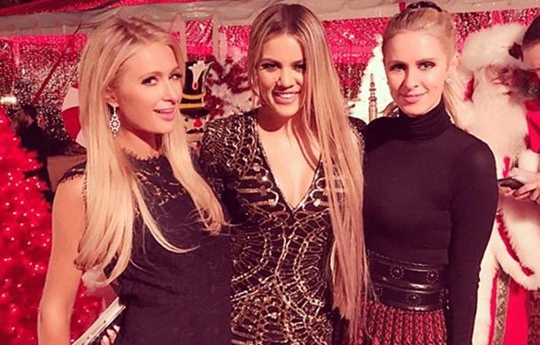 Paris'te yaşadığı soygun sonrası ortalarda pek görünmeyen Kim Kardashian, görkemli bir Noel partisiyle döndü!