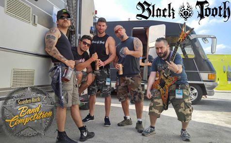 Black Tooth İsveç Rock Festivali