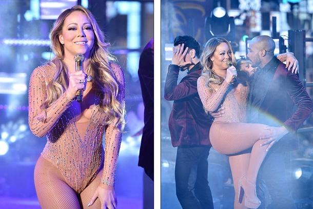 Mariah Carey Yılbaşı Performansı Hayal Kırıklığı Yarattı