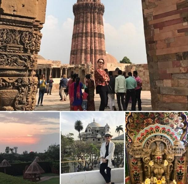 Demet Akbağ Holi Festivali İçin Hindistan'da!