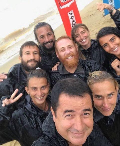 Acun Ilıcalı Survivor Selfie