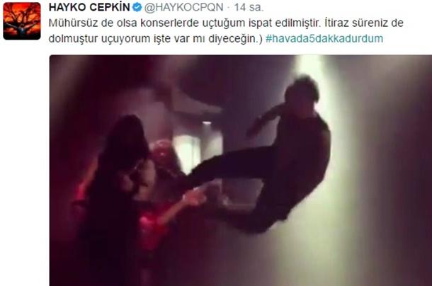 Hayko Cepkin Twitter