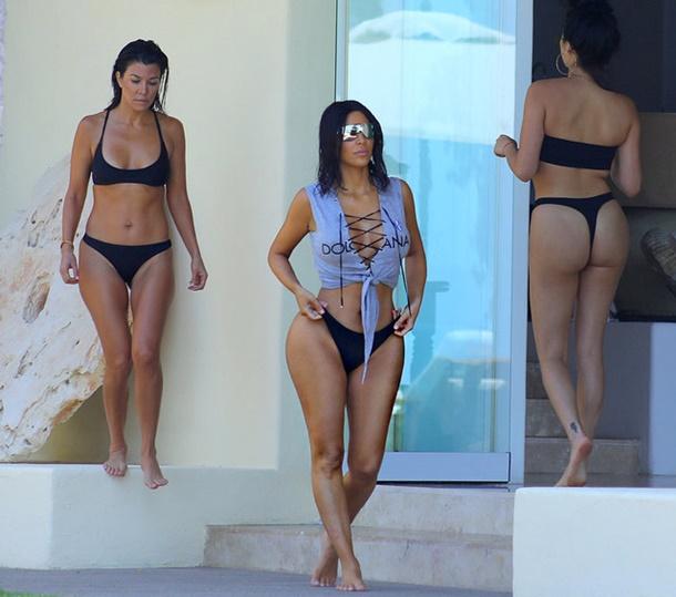 Kim Kardashian Meksika Tatili