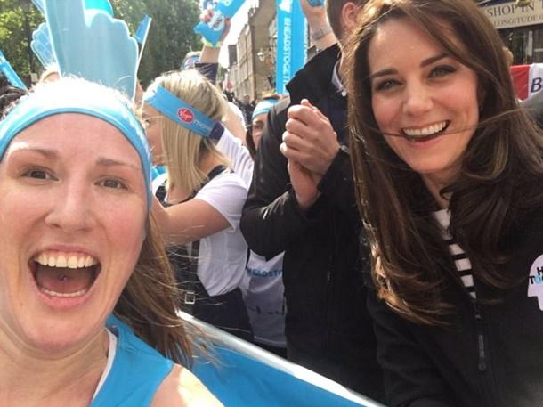 Kraliyet Ailesi Londra Maratonunu İzledi