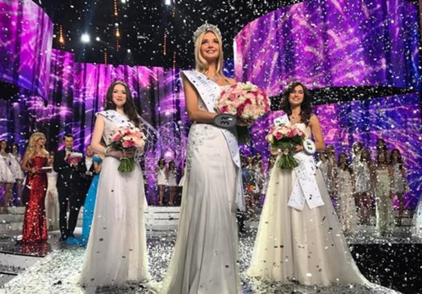 Rusya'nın En Güzel Kızı Seçildi
