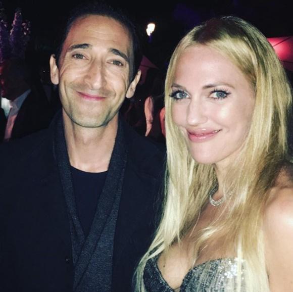 Adrien Brody Meryem Uzerli Cannes