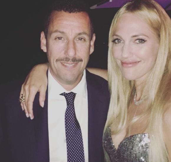 Adam Sandler ve Meryem Uzerli Cannes Film Festivalinde