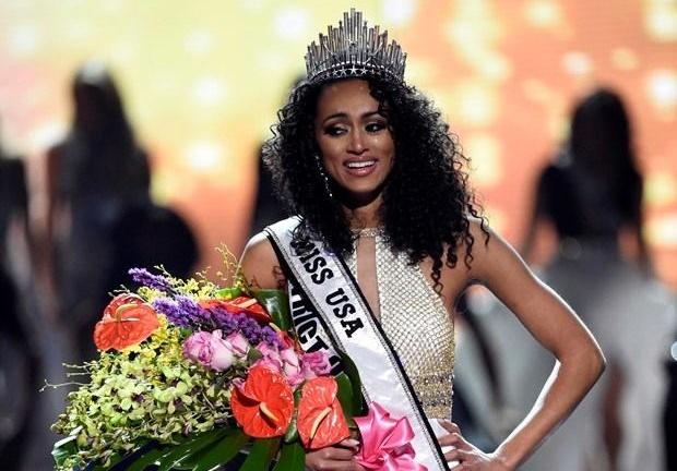 ABD'nin en güzel kızı belli oldu. 25 yaşındaki Kara McCullough Miss USA seçildi.