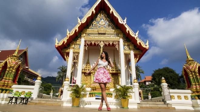 Nilay Dorsa Phuket Adasında Klip Çekti!