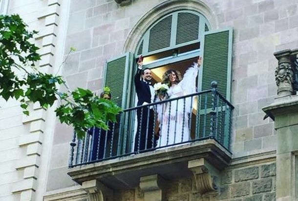 Sarp Apak Barselona'da Evlendi