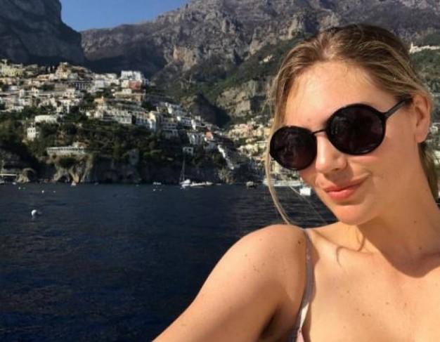 Kate Upton'dan Capri paylaşımı