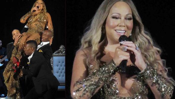 Mariah Carey'nin Kilolarıyla Başı Dertte