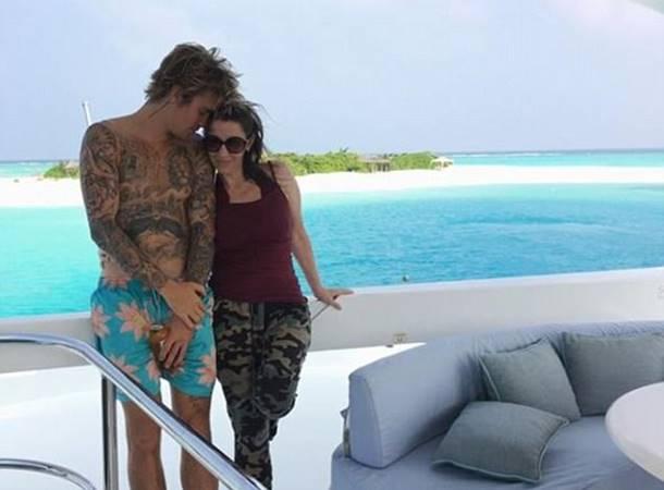 Justin Bieber Cenneti Maldivler'de Buldu