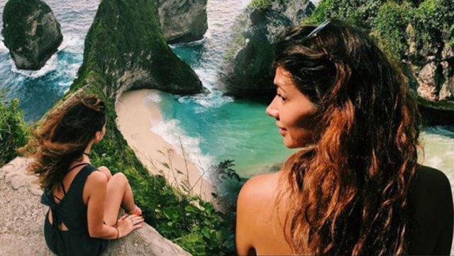 Ünlü Oyuncunun Gözlerden Uzak Bali Adası Tatili