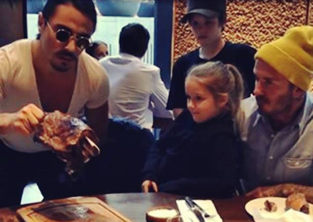 Nusret'in Son Konuğu David Beckham