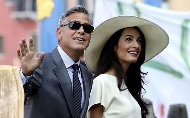 George Clooney Eşiyle Tatile Çıktı