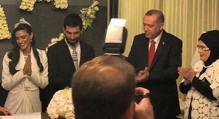 Milli Futbolcu Arda Turan Evlendi