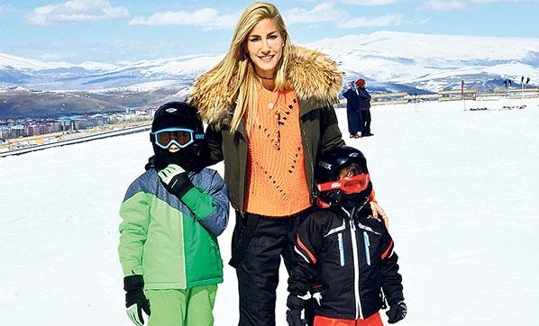 Çocuklarla Kayak Keyfi