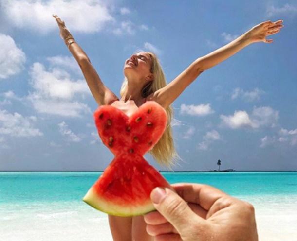 Maldiv adalarına hayran kaldı