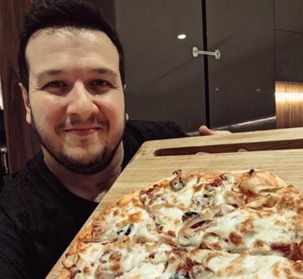 Şahan'dan İtalyan işi pizza