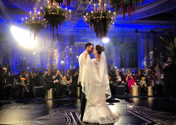 Simge Fıstıkoğlu evlendi