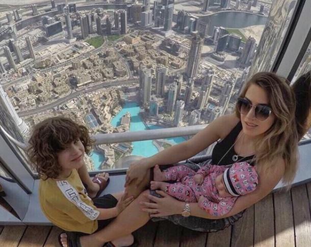 Yağmur Sarıoğlu Burj Khalifa'ya tırmandı