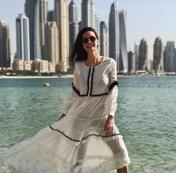 Yasemin Özilhan Dubai'de