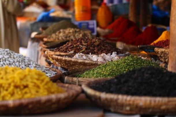 Baharat kokulu ada Zanzibar