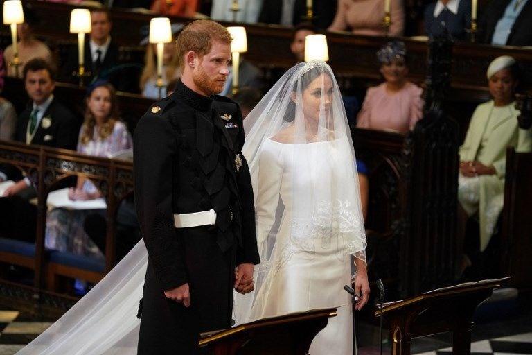 Prens Harry ile Meghan Markle evlendi