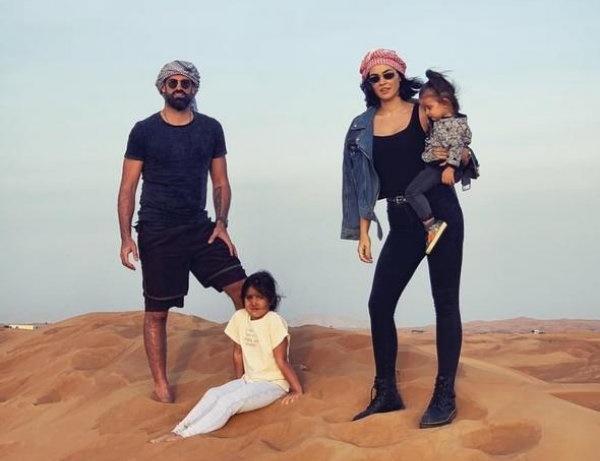 Volkan Demirel ailesiyle Dubai tatilinde