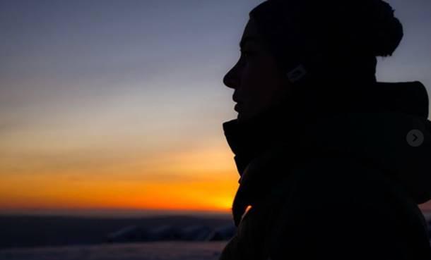 Ünlü Şarkıcı Sıla Finlandiya Tatilinde